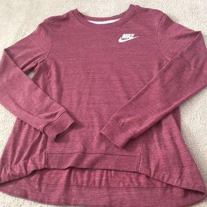 Pink Nike crewneck